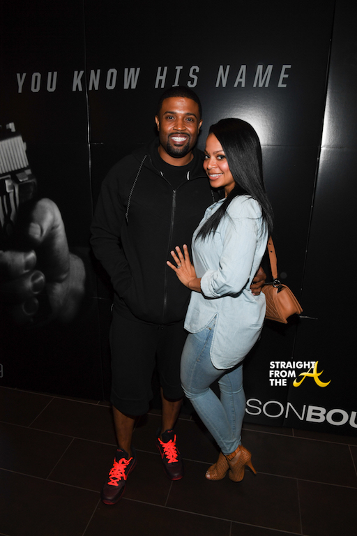 R&B Singer RL and Fiance Lena