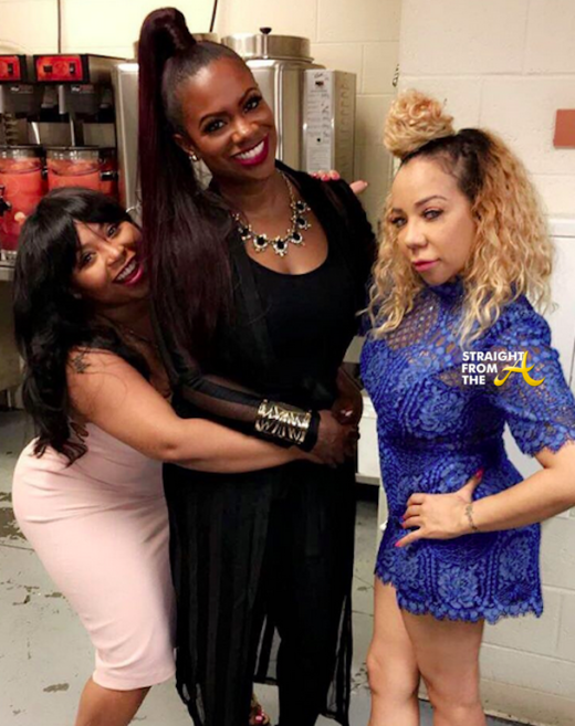 KANDI BURRUSS & TINY HARRIS Perform At BedroomKandi Convention 7
