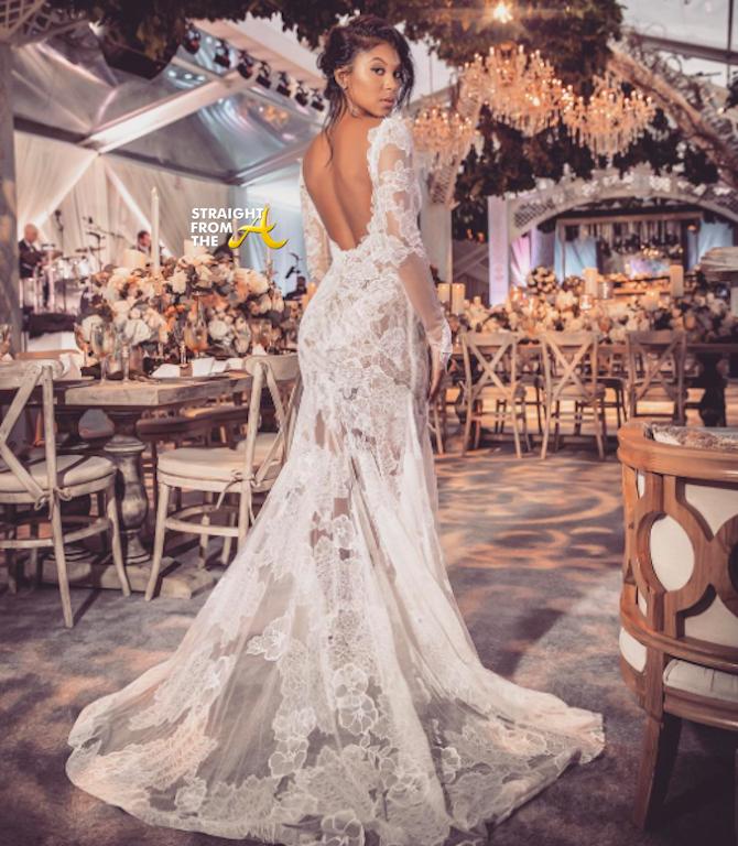 Ceremony Vs Reception Dress: Kevin Hart Wedding 2016-24