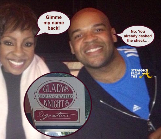 WTF?!? Gladys Knight's Son Refuses To Remove Her Name From Chicken & Waffles Restaurants…