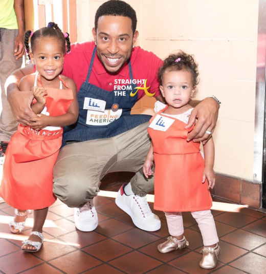 Celebrity Kids: Ludacris Shares Photos of Youngest Daughters: Meet Cai & Cadence… (PHOTOS)