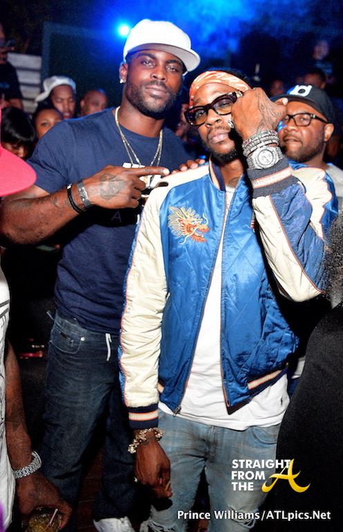 2Chainz, Mike Vick & More Spotted At Falcons vs. Saints Watch Party… (PHOTOS)
