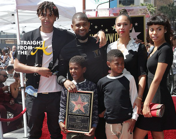 usher and his kids   imgkid     the image kid has it