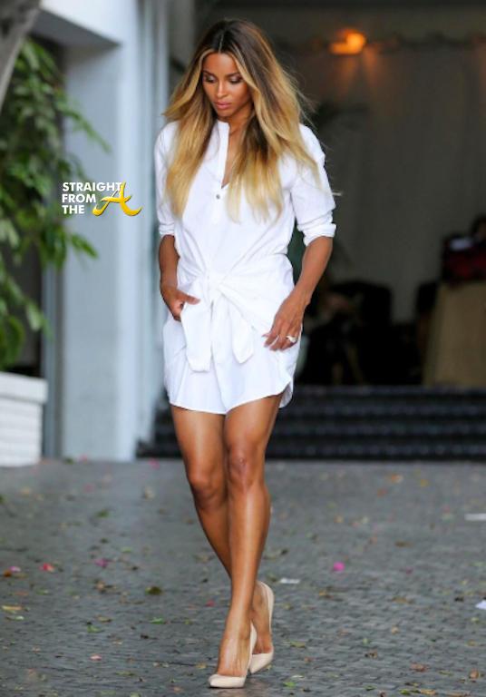Ciara Pregnant 100