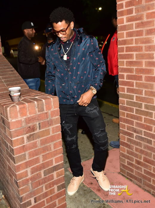 SPOTTED: Trey Songz Hosts Medusa Lounge in Atlanta… (PHOTOS)