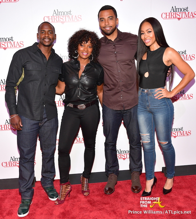 Cast From Almost Christmas.Will Packer Hosts Star Studded Almost Christmas Screening