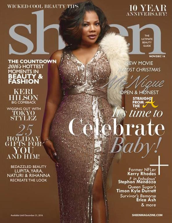COVER SHOTS: Mo'Nique Shimmers in 'SHEEN' Magazine… (PHOTOS)