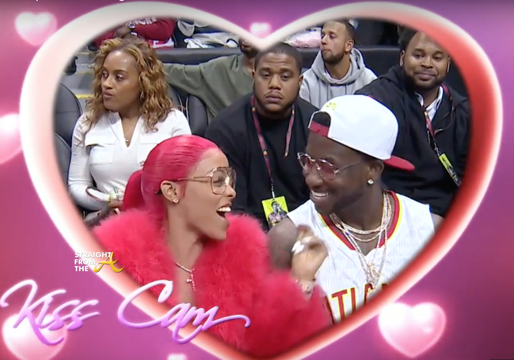 Gucci Mane Kiss Cam 1 Straight From The A Sfta Atlanta Entertainment Industry Gossip Amp News