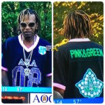 OPEN POST: Ludacris Protege 'Lil Fate' Rocks 'AKA' Sorority Jersey During Magic City Classic…