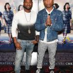 Usher Raymond and Pharrell