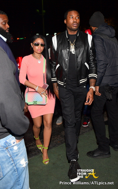 Boo'd Up: Nicki Minaj and Meek Mill Spotted in Atlanta… (PHOTOS)