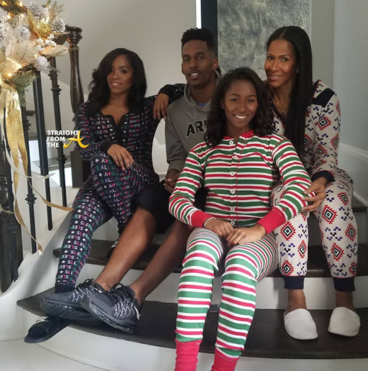 sheree-whitfield-and-kids-christmas-2016