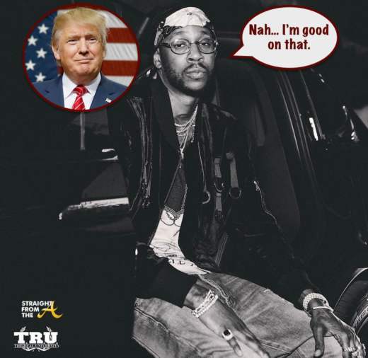 2Chainz Declines Invite to Perform at Trump Inauguration… (VIDEO)