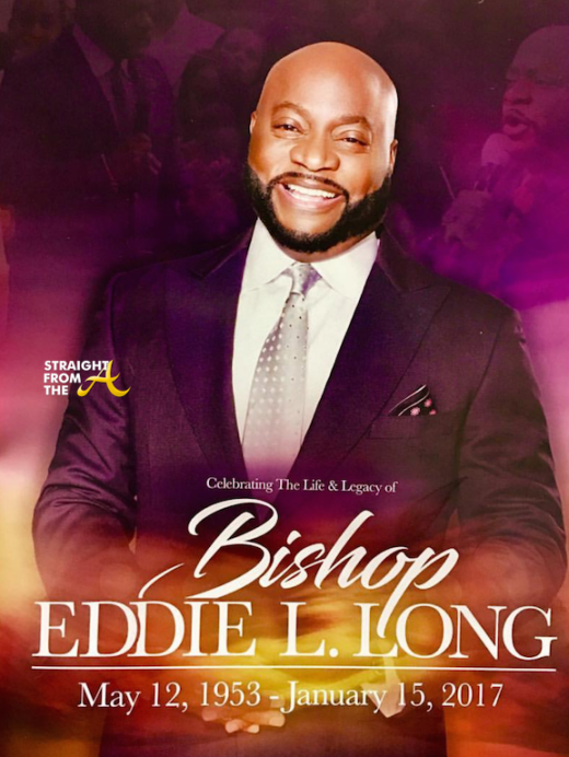 Bishop Eddie Long Funeral Service