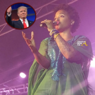 Chrisette Michelle Donald Trump