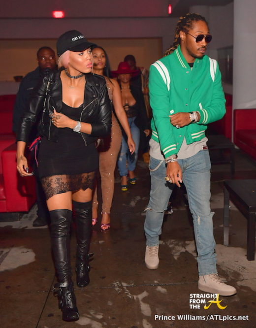 Boo'd Up: Future Reunites With Baby Mama Brittni Mealy… [PHOTOS]