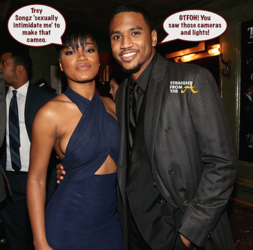 Keke Palmer Accuses Trey Songz of 'Sexual Intimidation' After Unapproved Cameo + Songz Responds…