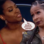 "#RHOA Kenya Moore To Sheree Whitfield: ""A Woman Who Has Been Abused Before Should Know Better…"""