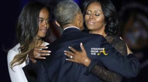 Barack Obama, Malia Obama, Michelle Obama