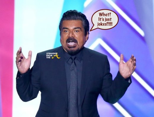 George Lopez Anti Black Joke