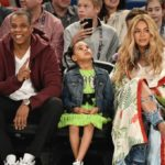 Baby Bump Watch: Beyonce, Jay-Z & Blue Ivy Attend 2017 NBA All-Star Game… (PHOTOS)