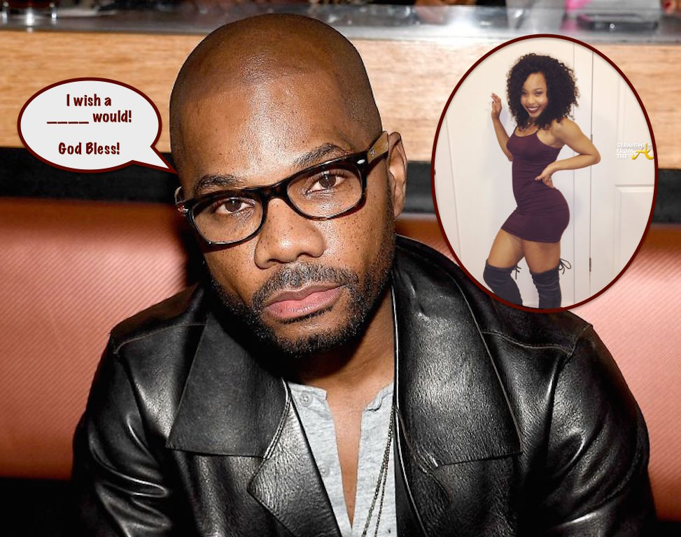 Thumb Thuggin For Christ! Kirk Franklin Defends Daughter Against ...