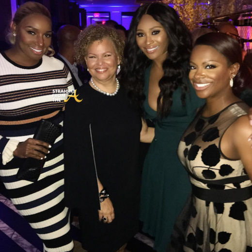 "#RHOA ""Power Team"" Nene Leakes, Cynthia Bailey & Kandi Burruss Respond to Critics of Leakes' Season 10 Return… [VIDEO]"