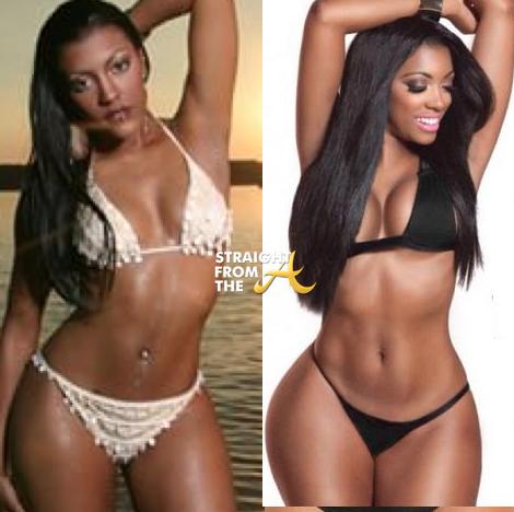 Did Porsha Gain Weight Instagram Flexin Rhoa Phaedra
