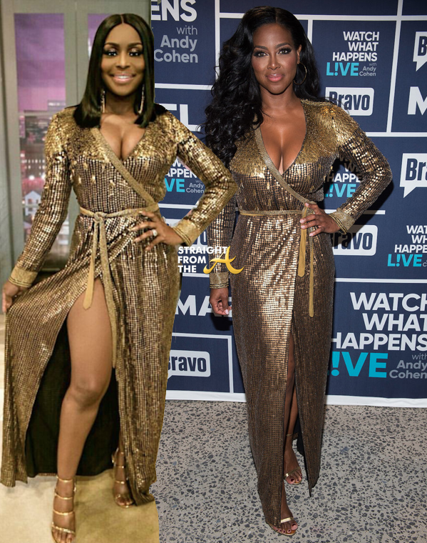 Reality Recycled Fashions Married2med Quad Webb Lunceford Vs Rhoa Kenya Moore Photos