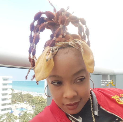 WTF?!? DaBrat Facing Garnishment Of Over $6.7 Million From 2007 Bottle Incident….
