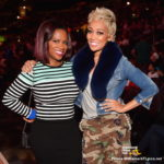 Monica Brown, Kandi Burruss & More Spotted At Atlanta Hawks Game… (PHOTOS)