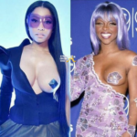 Nicki Minaj Responds to Criticism She Copied Lil Kim's Breast Baring Look… [PHOTOS]