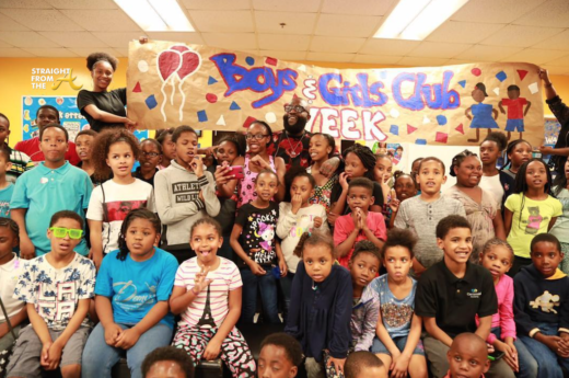 Rick Ross Pays Surprise Visit to Atlanta Area Boys & Girls Club… (PHOTOS + VIDEO)