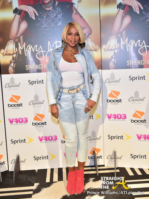 QUICK PICS: Mary J. Blige Hosts 'Strength of A Woman' Mini Movie Screening in Atlanta… (PHOTOS + VIDEO)
