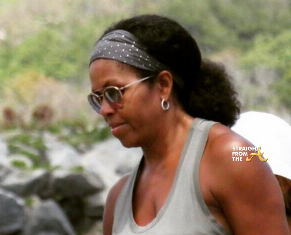 Michelle Obama Natural Hair 2017