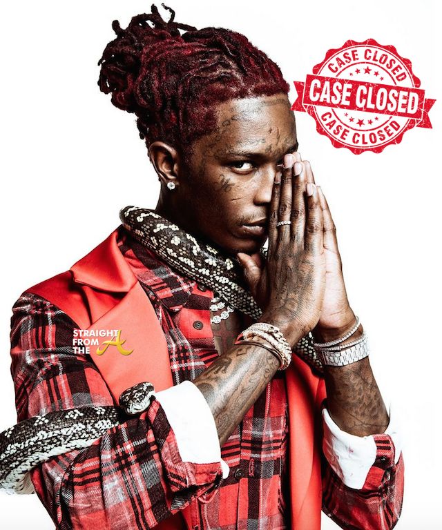 CASE CLOSED! Young Thug's Felony Drug & Weapons Charges