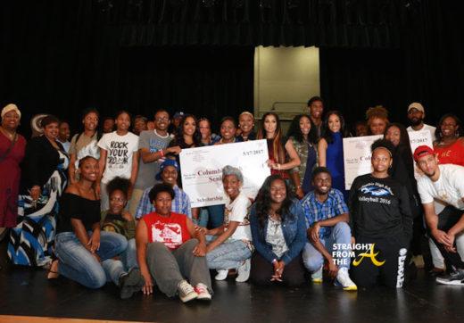 Good Deeds: #LHHATL Cast Members Help Columbia High School