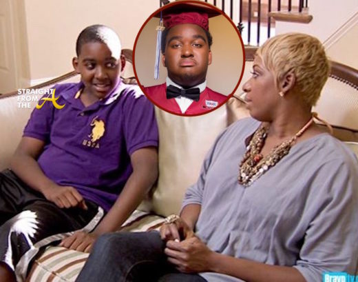 #RHOA Graduation Season: #RHOA Nene Leakes' Son Brentt Graduates High School… (PHOTOS)