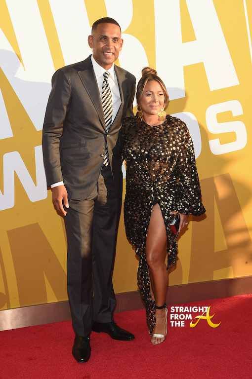 celebs  u0026 basketball legends attend 1st annual nba awards