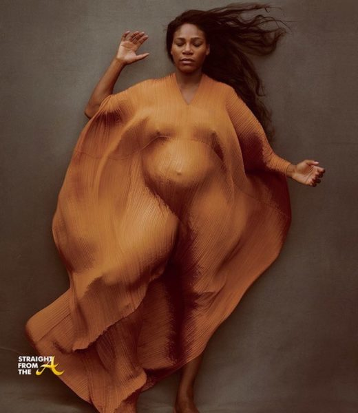 Baby Bump Watch: Serena Williams Does Nude Pregnancy Shoot for Vanity Fair… (PHOTOS)