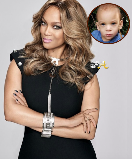 Tyra Banks Shares Adorable Photo Of Son For Father's Day
