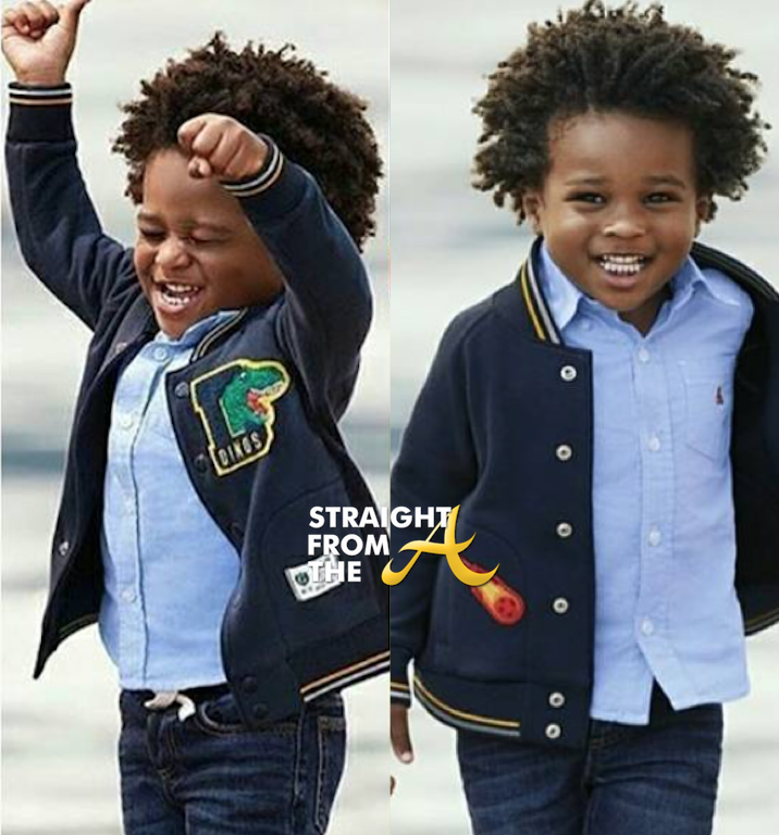 Baby Future Lands Gap Kids Campaign Photos