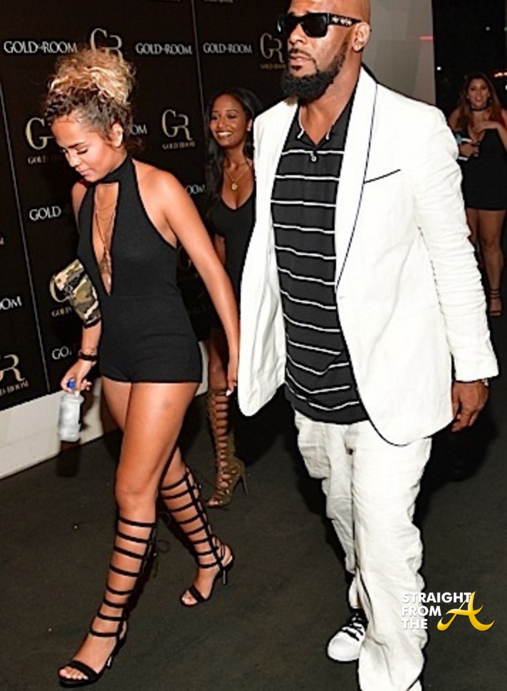 R kelly dating a young girl