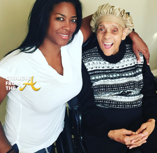 #RHOA Kenya Moore Mourns Death of Grandmother in Heartfelt Instagram Post… (PHOTOS)
