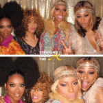 Quick Pics: #RHOA Sheree Whitfield Hosts 70s Themed Party… (PHOTOS)