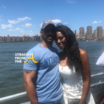 If You Care: #RHOA Kenya Moore and New 'Husband' Spotted on Commercial Flight… (VIDEO)