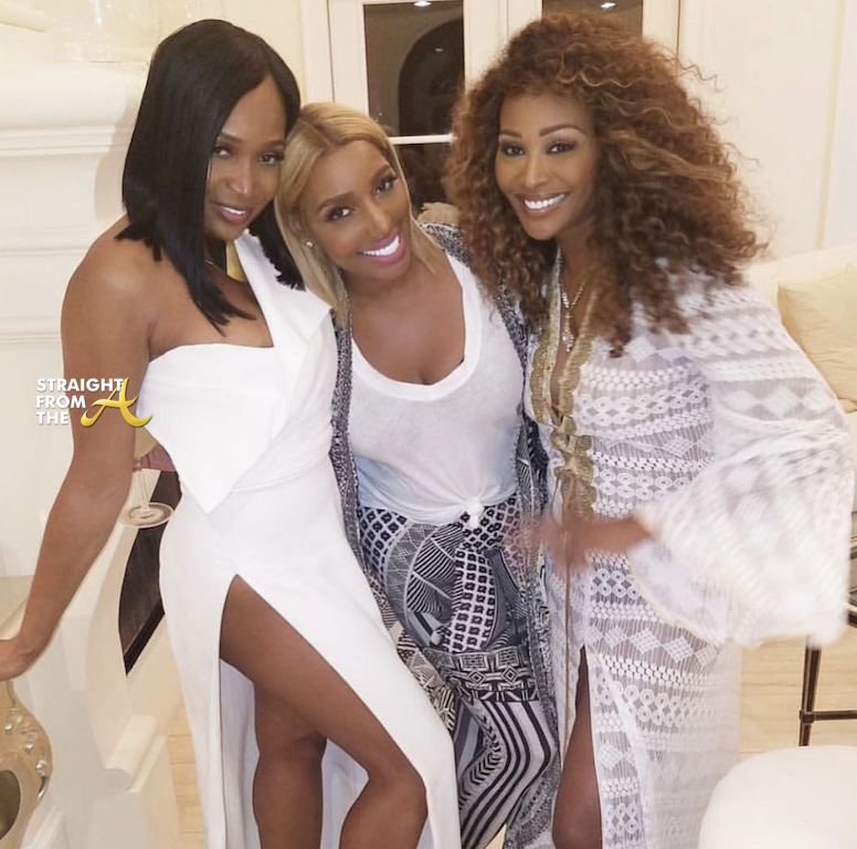 Marlo Hampton Nene Leakes Cynthia Bailey Straight From