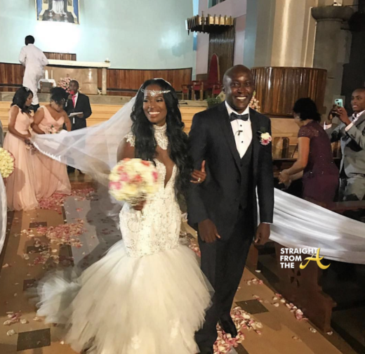 Wedding Season! #RHOA Shamea Morton Marries Gerald Mwangi in Kenya… (PHOTOS + VIDEO)