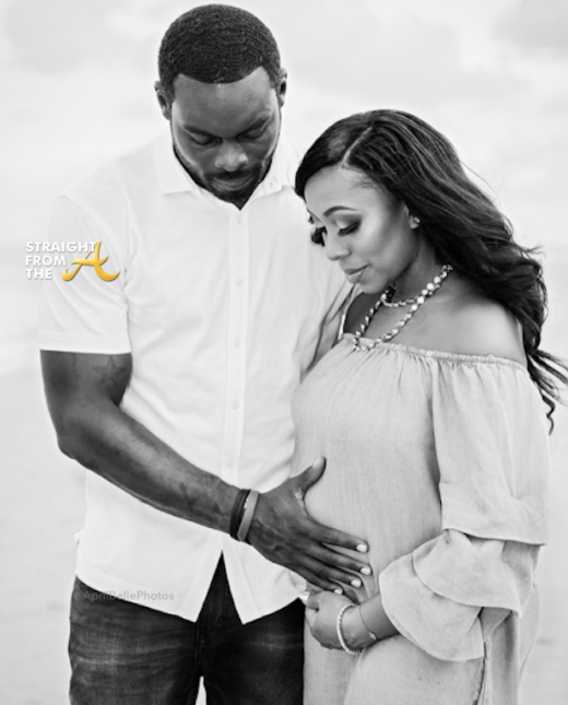 Baby Bump Watch! Mike Vick's Wife Kijafa Chronicles Pregnancy Via Instagram… (PHOTOS)