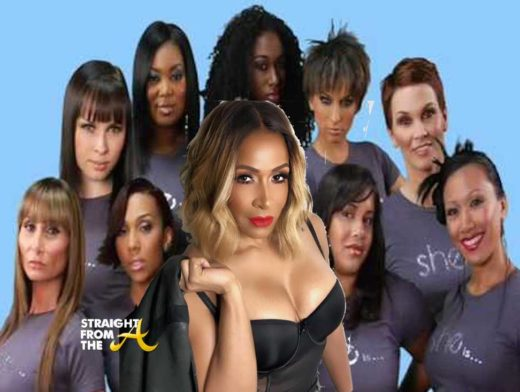 #RHOA Fashion Flop Sheree Whitfield Launches 'She By Sheree' T-Shirt Line…